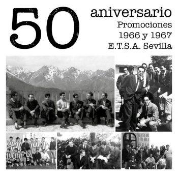 50 aniversario primeras promociones ETSA