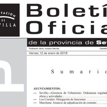 Boletin Provincia Sevilla - OROA