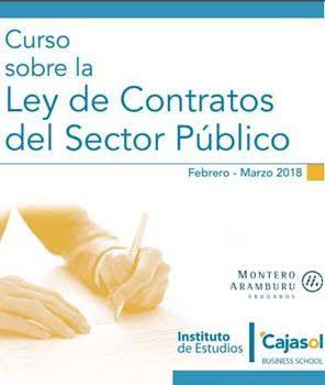 curso ley contratos sector publico
