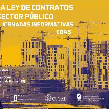 Jornadas COAS Nueva Ley Contratos Sector Público