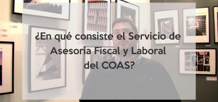El COAS presenta su nueva Asesoría Fiscal y Laboral