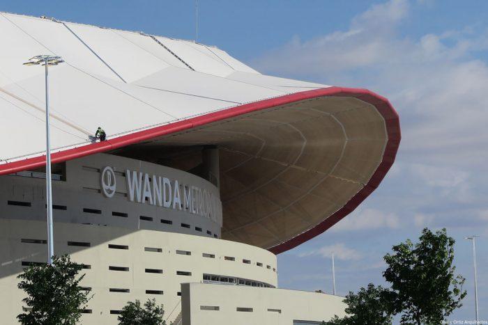 Estadio Wanda Metropolitano de Cruz y Ortiz