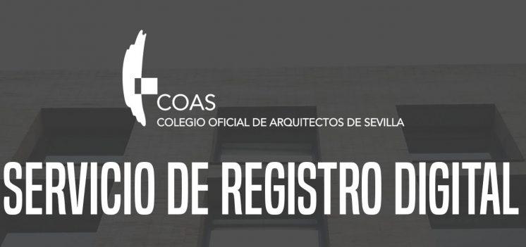 Servicio de Registro Digital COAS