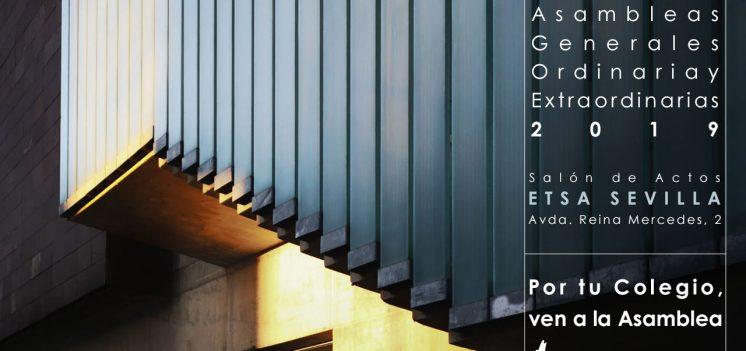 29-MAYO: Convocatorias de Asambleas Generales Ordinaria y Extraordinarias del COAS
